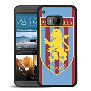 Popular Sale HTC ONE M9,Aston villa Black Unique Custom HTC ONE M9 Phone Case