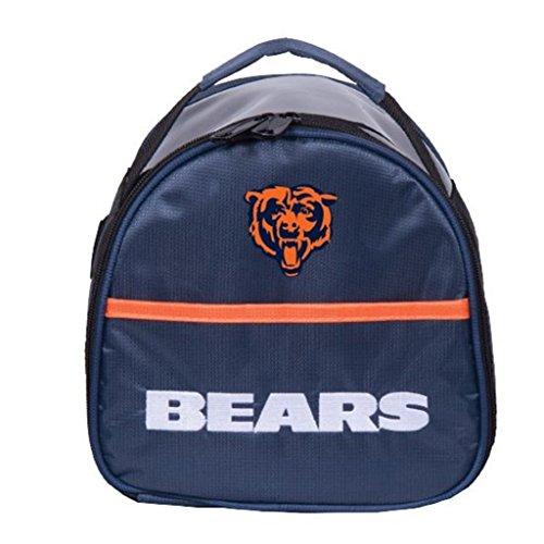 KR Strikeforce Chicago Bears Single Add On Bowling Bag, Multicolor