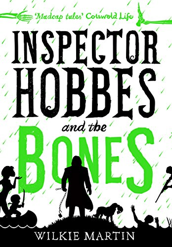 Inspector Hobbes and the Bones: Cozy Mystery Comedy Crime Fantasy (unhuman Book 4) cover