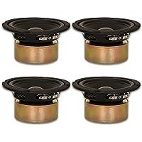 4 Goldwood Sound GW-5028/S Shielded 5.25 Woofers 130 Watt each 8ohm Replacement Speakers
