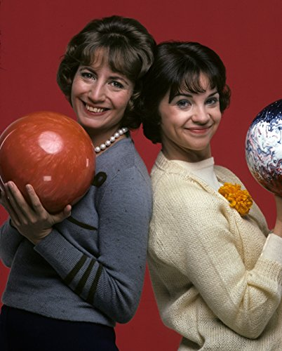 Laverne & Shirley Bowling Photograph