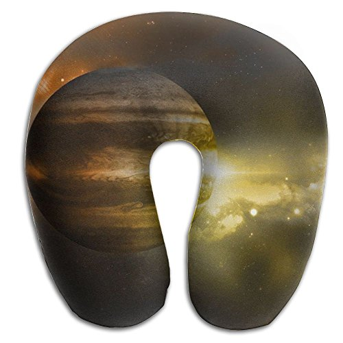 U Neck Pillow Travel Rest Airplane Office Sleeping Jupiter Is The Oldest Planet In The Solar System Soft U Shape Pillow by POUYI