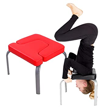 WXX Silla Invertida de Yoga, Taburete invertido, hogar ...