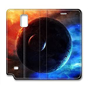 DIY Universe Design Leather Case for Samsung Note 4 Beam of Light