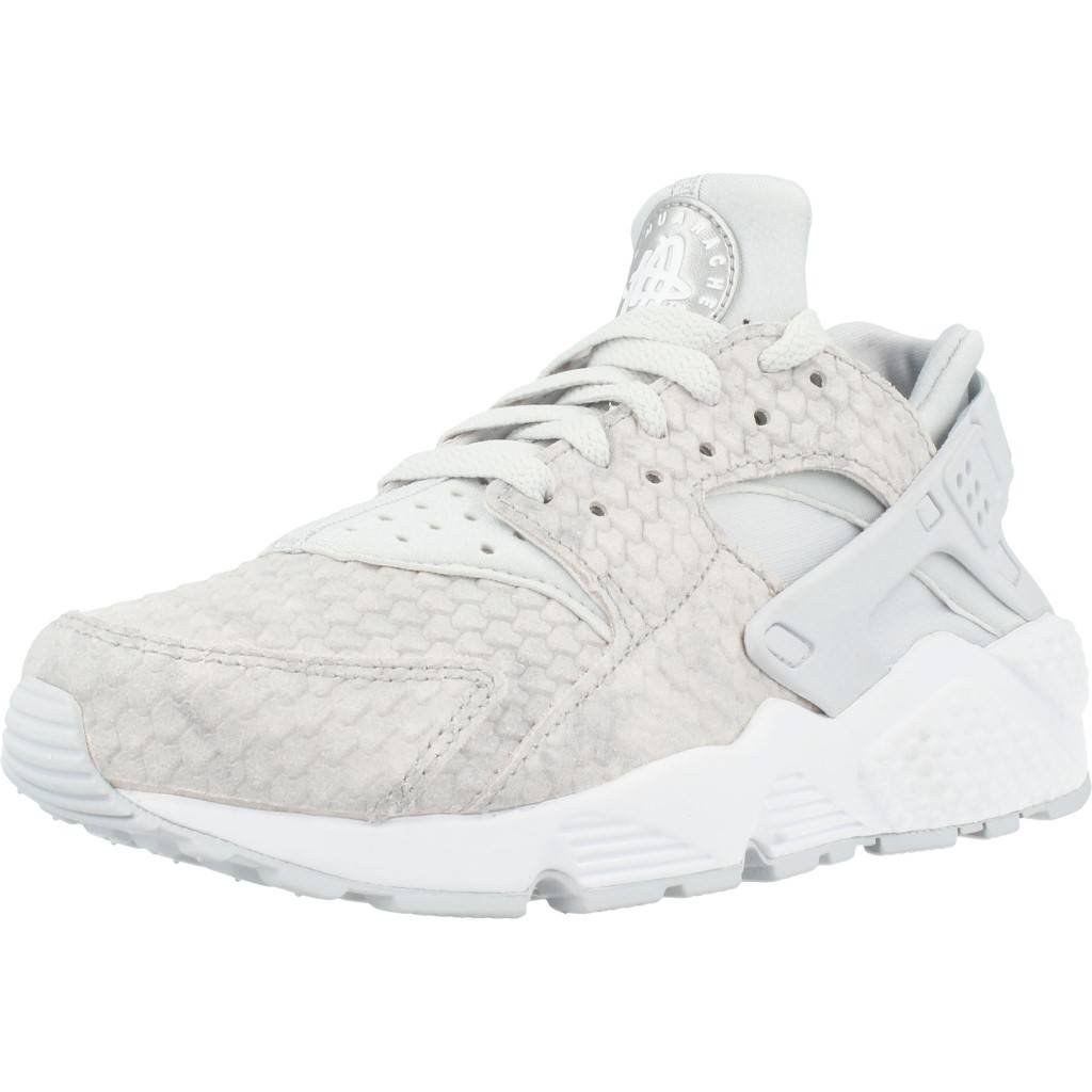Details about Nike Air Huarache Run Womens White Synthetic & Textile Running Trainers