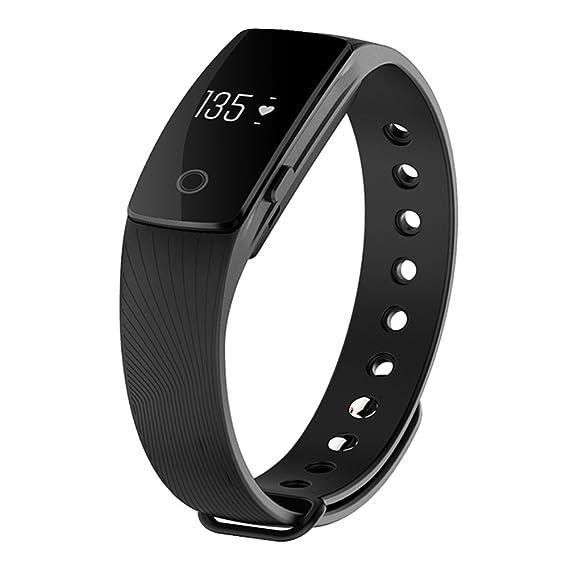 Amazon.com: IVLWE ID107 Bluetooth Smart Bracelet Smart Watch ...