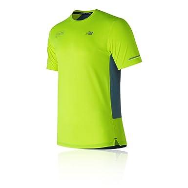 81561ee2faf New Balance Ice 2.0 London Edition Short Sleeve Running T-Shirt - SS18 - XX  Large  Amazon.co.uk  Clothing