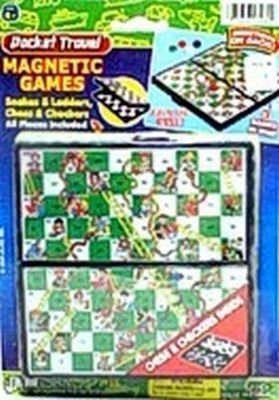 Magnectic Games Snakes & Ladders, Chess & Checkers