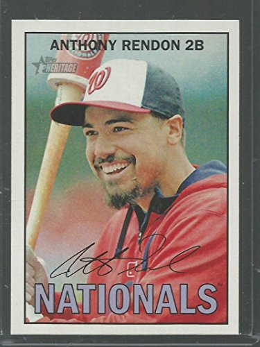 Baseball MLB 2016 Topps Heritage #324 Anthony Rendon NM-MT Nationals