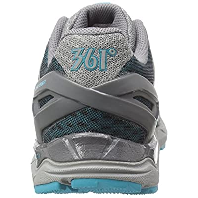 361° Women's Ortega-W Trail Runner, Grey/Peacock Blue, 10 M US | Trail Running