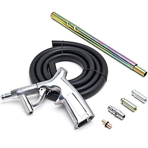 Biltek NEW Sandblaster Kit 7pc Air Nozzles Sandblasting Gun Tubes Pick Up Sand Blaster by KapscoMoto