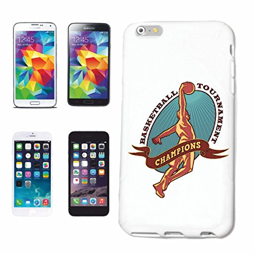 "cas de téléphone iPhone 7S ""BASKETBALL BASKETBALL CLUB DE BASKET JOUEURS DE BASKET-BALL ÉQUIPE"" Hard Case Cover Téléphone Covers Smart Cover pour Apple iPhone en blanc"