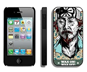 Beautiful And Unique Designed Case For iPhone 4 With Mr Miyagi Phone Case