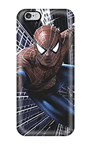 First-class Case Cover For Iphone 6 Plus Dual Protection Cover Spiderman In Action