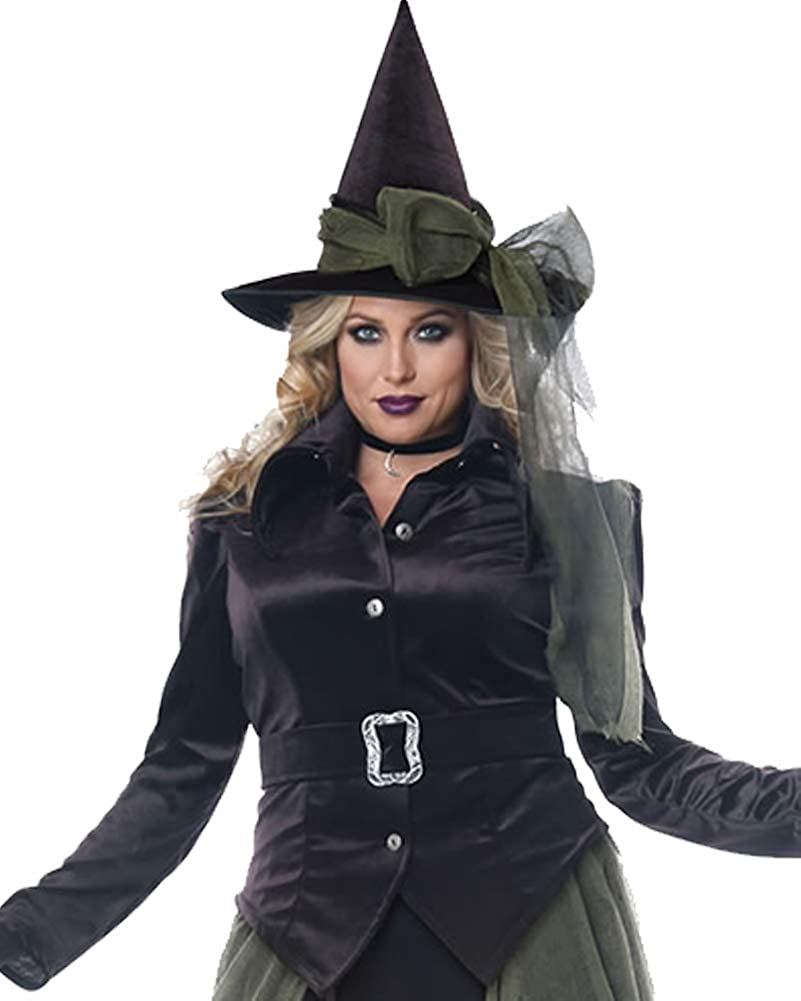 Witches /& Wizards Spell Caster Witch Adult Costume