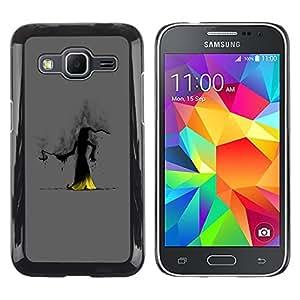 Shell-Star Arte & diseño plástico duro Fundas Cover Cubre Hard Case Cover para Samsung Galaxy Core Prime / SM-G360 ( The Dark Wizard )