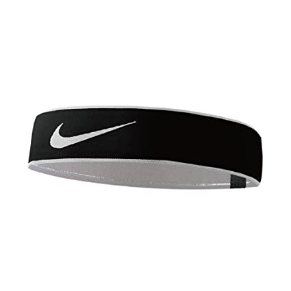 Amazon.com   Nike Womens Pro Swoosh Headband 2.0 Logo Athletic ... 0d4a6ca7a9e