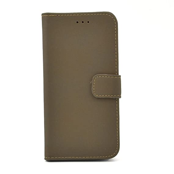 low priced 418f9 bf60c Amazon.com: Apexel Canvas Leather Case for HTC One(M8) - Frustration ...