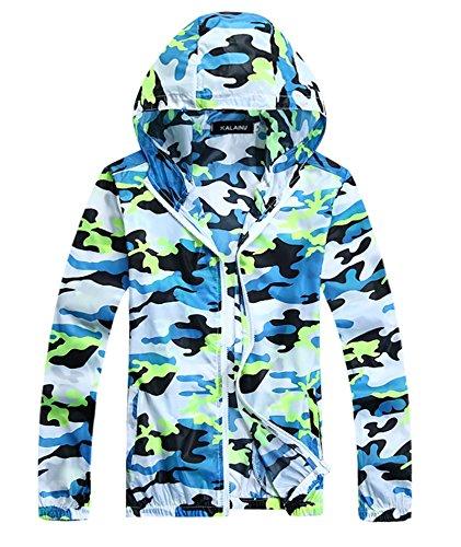 - IyMoo Men's Packable Skin Coat Super Lightweight Jacket Windbreaker UV Protect Coat Fluorescent Green Large