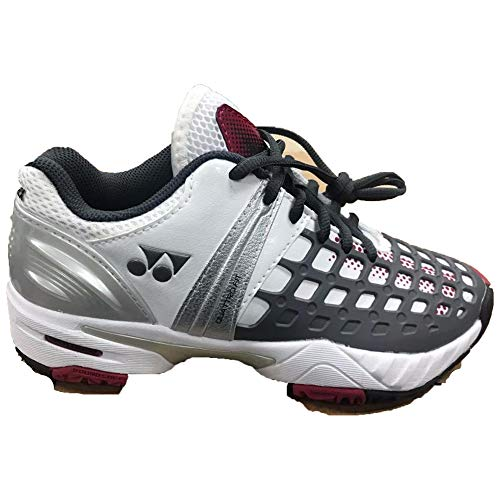 YONEX Power Cushion SHT-PROEX Tennis Shoes (6) White and Gray