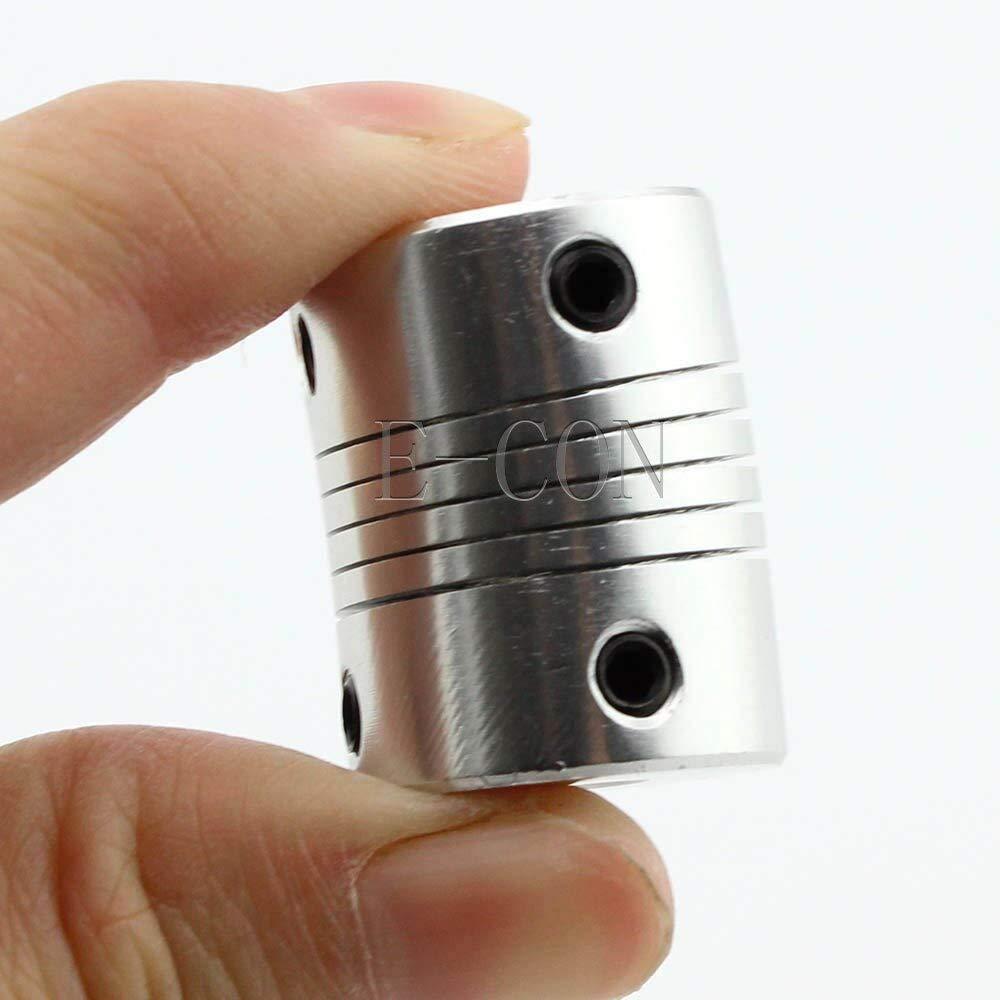 Power Transmission Stepper Motor 3D Printer Flexible Coupling Coupler//Shaft Couplings 5mmx8mm Flexible Shaft Coupler Motorcoupling Wholesale