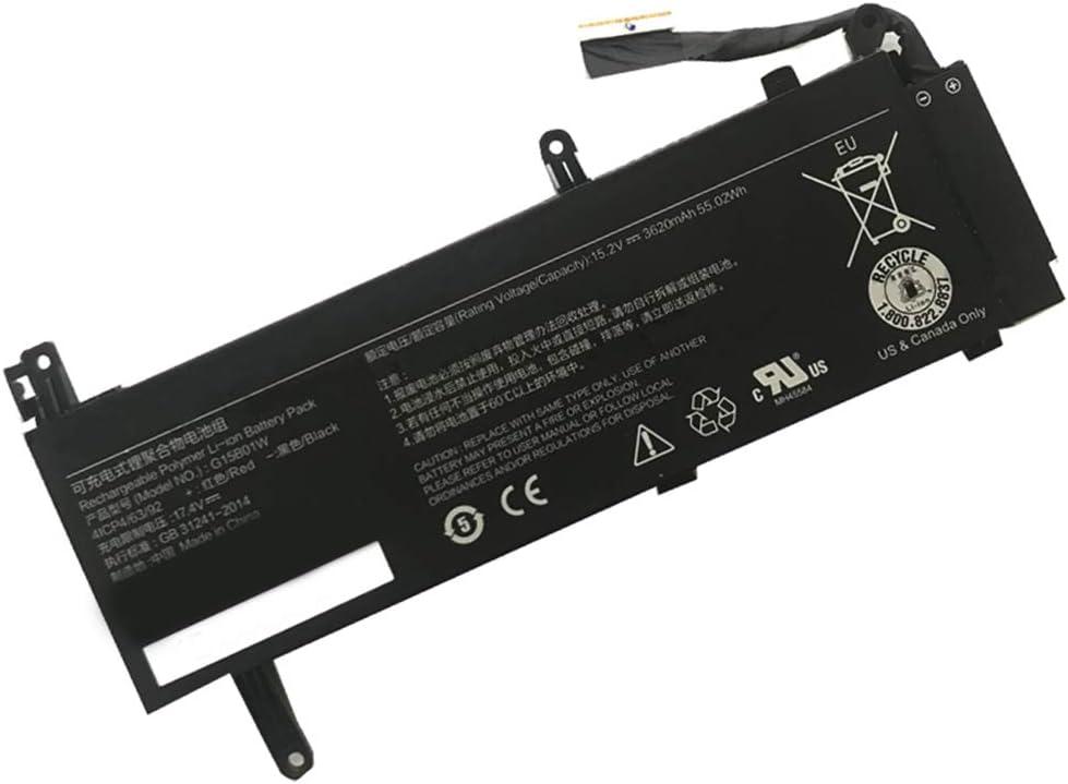 XITAI 3620mAh G15B01W Repuesto Batería para Xiaomi Gaming Laptop 15.6'' 7300HQ Notebook GTX1060 Intel I7 (15.2V 55.02Wh)
