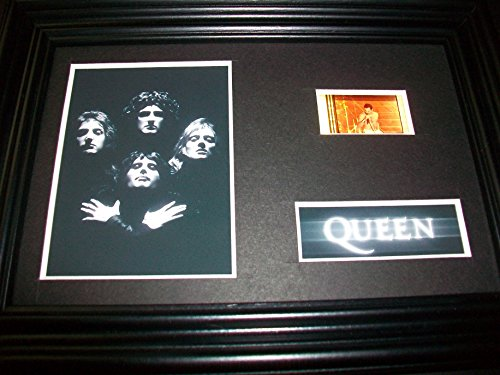 QUEEN Framed Movie Film Cell Display Collectible - Compliments poster dvd book