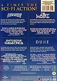 Flash Gordon / The Last Starfighter / Battlestar Galactica / Dune (4 Feature Films)