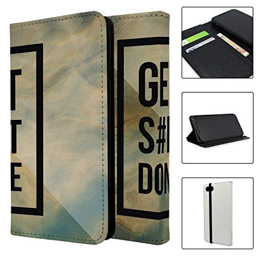 Get Sh * t Done Full Flip Case Schutzhülle für für Apple iPhone 8–S3214