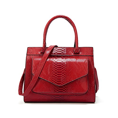 Sac Coolives Serpent a port Main Texture Sacs en Femme Cabas PU Cuir TwdOqgwF