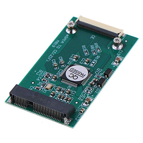 """Gump's grocery Mini mSATA PCI-E 1.8"""" SSD to 40 Pin ZIF CE Cable Adapter Converter Card"""
