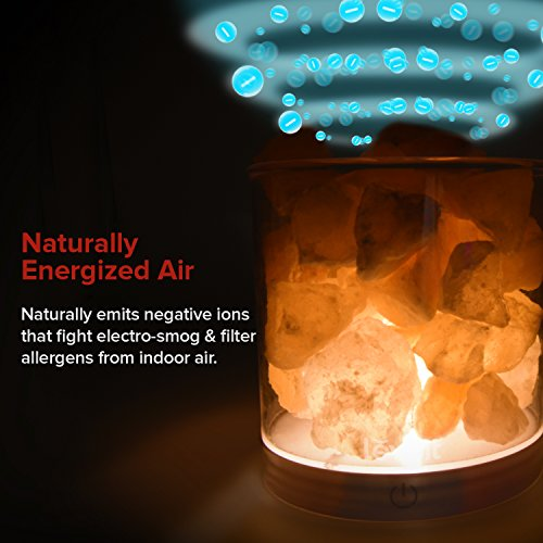 Levoit-Cora-Himalayan-Salt-Lamp-Natural-Glow-Pink-Sea-Crystal-RockTouch-Brightness-Dimmable-Control-Levoit-Basin-DesignUL-Listed-Cord-and-Gift-Box