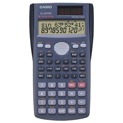 CASIO FX300-MS SCIENTIFIC CALCULATOR WITH 240 BUILT-IN FUNCT