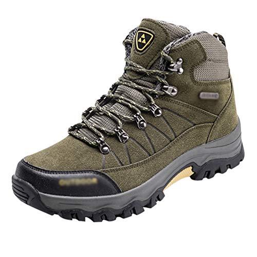 Haut Marche Vert Yuanu Chaussures Arme En Sneaker Antichoc De Plein Antidrapant Hommes top Air Professionnel Trekking Randonne SSaw6qg8