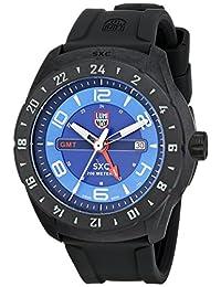 Luminox Men's 5023 SXC PC Carbon GMT Analog Display Quartz Black Watch