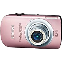 Canon PowerShot SD960IS 12.1 MP Digital Camera with 4x Wide Angle Optical Image Stabilized Zoom and 2.8-inch LCD (Pink) At A Glance Review Image