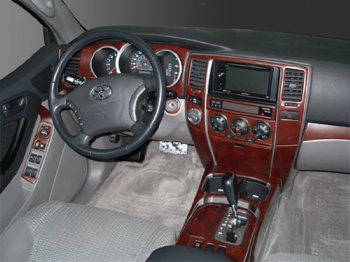 Amazon.com: TOYOTA 4RUNNER 4 RUNNER INTERIOR BURL WOOD DASH TRIM KIT SET  2003 2004 2005: Automotive