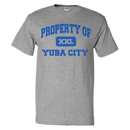ShirtScope Property of Yuba City CA T shirt Funny Tee - Ca City Yuba