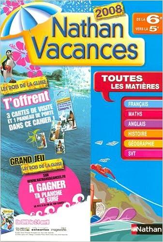 Amazon Fr Nathan Vacances De La 6e Vers La 5e Denis