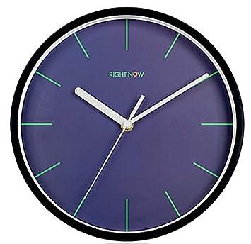 WANGYONGQI Reloj de Pared, Reloj de Cuarzo puntual silencioso Digital Grande para Cocina, Dormitorio, jardín, Sala de Estar, Estudio, Oficina: Amazon.es: ...