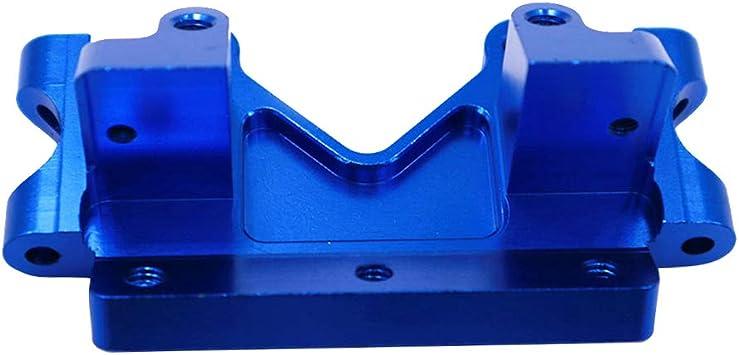 IPOTCH Mampara Frontal De Aluminio para Piezas De Actualización De Vehículos Traxxas Slash 2WD - Azul Oscuro, 73x40x30mm: Amazon.es: Juguetes y juegos