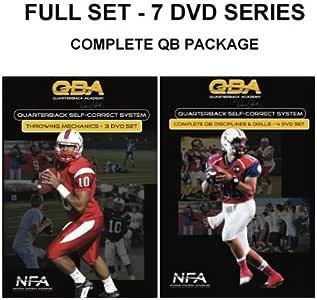 Complete C4 Self-Correct System, 7-DVD series for Quarterback training & development