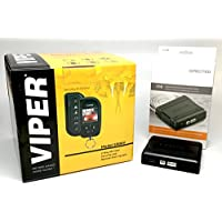 Viper 5906V Remote Car Starter & Alarm Keyless Entry 2-Way TWO Remotes 1 Color LED Remote & Directed DB3 XPressKit DEI Databus ALL Combo Bypass / Door Lock Interface Bundle Package