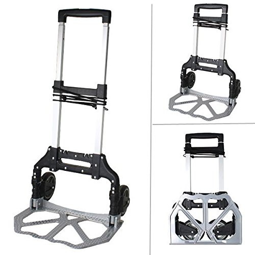 150lbs Folding Warehouse Collapsible Trolley product image