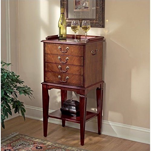 BUTLER 1334024 HARDWICK PLANTATION CHERRY SILVER CHEST