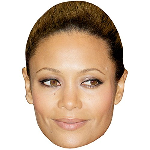 Thandie Newton Celebrity Mask, Card Face and Fancy Dress Mask