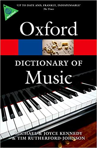 The Oxford Dictionary of Music 6/e (Oxford Quick Reference): Amazon