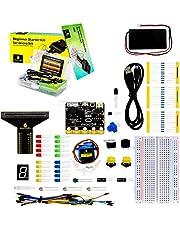 KEYESTUDIO BBC Micro:bit Starter Kit w/Guide, Photo and Lessons Tutorials Handy for Micro:Bit
