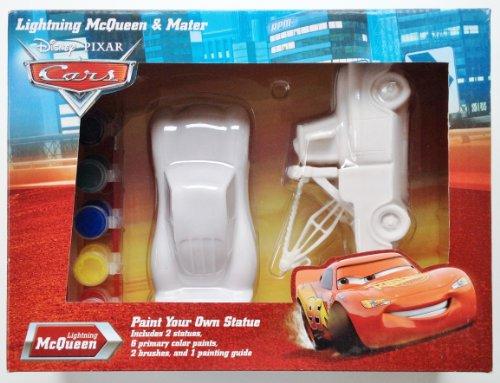 Disney Pixar CARS: McQueen & Mater Paint Your Own Statue