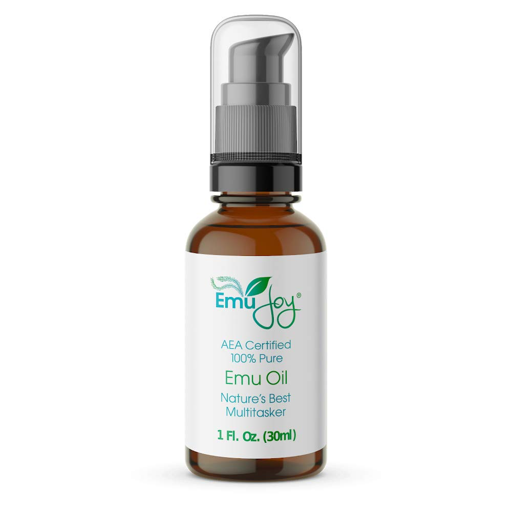 100% Pure Emu Oil AEA Certified | Chemo and Radiation Burn Skin Care Piercing Aftercare Tattoo After Care Face Moisturizer Lichen Sclerosus Burns Scars Stretch Marks Swelling | From a USA Emu Farm